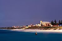 North Cottesloe beach shortly after sunset.