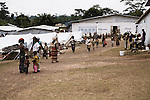 Ivorian refugees in UNHCR camps in Liberia