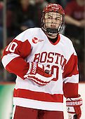 Danny O'Regan (BU - 10) - The visiting University of Massachusetts Lowell River Hawks defeated the Boston University Terriers 3-0 on Friday, February 22, 2013, at Agganis Arena in Boston, Massachusetts.