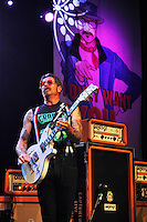 LONDON, ENGLAND - AUGUST 26: Jesse Hughes of 'Eagles Of Death Metal' performing at The Forum on August 26, 2016 in London, England.<br /> CAP/MAR<br /> &copy;MAR/Capital Pictures / MediaPunch ** USA and South America Only**