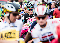 Picture by Alex Broadway/ASO/SWpix.com - 04/06/16 - Cycling - Tour de France 2016 - Stage Three -  Granville to Angers - Chris Froome of Great Britain and Team Sky before the race.<br /> <br /> NOTE : FOR EDITORIAL USE ONLY. COMMERCIAL ENQUIRIES IN THE FIRST INSTANCE TO simon@swpix.com THIS IS A COPYRIGHT PICTURE OF ASO. A MANDATORY CREDIT IS REQUIRED WHEN USED WITH NO EXCEPTIONS to ASO/ALEX BROADWAY