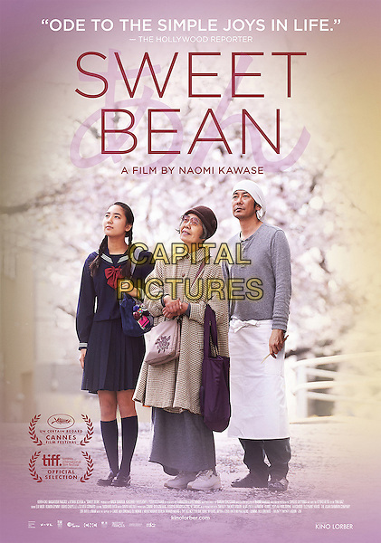 Sweet Bean (2015)<br /> ( orig. title: AN, 2015)<br /> AMERICAN POSTER<br /> *Filmstill - Editorial Use Only*<br /> CAP/FB<br /> Image supplied by Capital Pictures