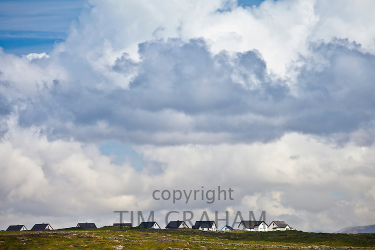 New housing in Connemara, County Galway