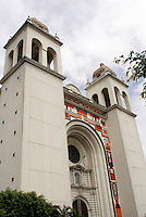 The Metropolitan Cathedral or Catedral Metropolitano on Plaza Barrios downtown San Salvador, El Salvador