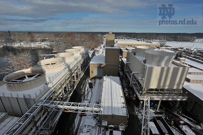 ND Power Plant..Photo by Matt Cashore/University of Notre Dame