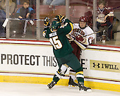 Kevan Miller (Vermont - 15), Tommy Atkinson (BC - 28) - The Boston College Eagles defeated the visiting University of Vermont Catamounts 6-0 on Sunday, November 28, 2010, at Conte Forum in Chestnut Hill, Massachusetts.