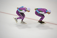 SCHAATSEN: HEERENVEEN: 15-09-2014, IJsstadion Thialf, Topsporttraining, Pim Schipper, Thomas Krol, ©foto Martin de Jong