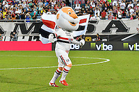Orlando, FL - Saturday Jan. 21, 2017: São Paulo mascot during the first half of the Florida Cup Championship match between São Paulo and Corinthians at Bright House Networks Stadium.