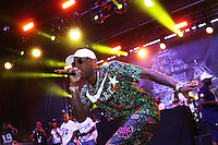 BRONX, NEW YORK - AUGUST 13, 2016 Fabolous performs at the Bacardi x Dean Collection No Commission Art event, August 13, 2016  in The Bronx, New York. Photo Credit: Walik Goshorn / Mediapunch