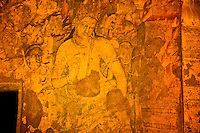 Padmapani Bodisattva  Murals at Ajanta Caves, Adjanta Caves World Heritage Site    Buddhist cave paintings from Second Century BC