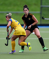 Action during the National Under 21 Championships between Southern and Capital Women, Lloyd Elsmore Park, Auckland, New Zealand. Friday 12  May 2017. Photo:Simon Watts / www.bwmedia.co.nz