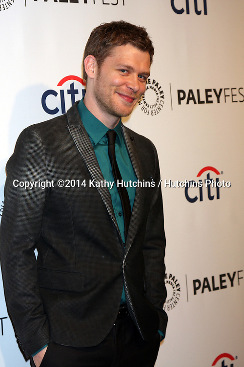 """LOS ANGELES - MAR 22:  Joseph Morgan at the PaleyFEST 2014 - """"The Vampire Diaries"""" & """"The Originals"""" at Dolby Theater on March 22, 2014 in Los Angeles, CA"""