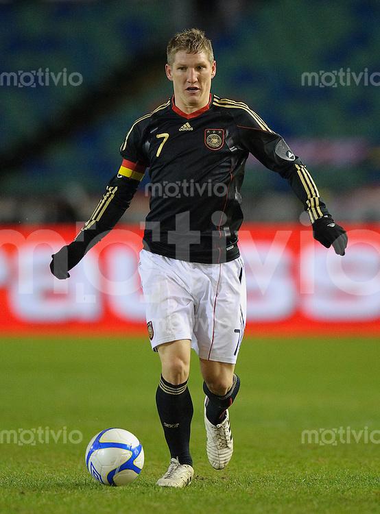 Fussball international Freundschaftsspiel Schweden - Deutschland Bastian SCHWEINSTEIGER (GER).