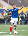 Lee McCulloch far from happy