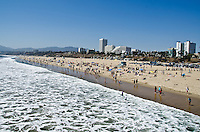 It's a beautiful day in the neighborhood...(Santa Monica Beach, Monday, May 20, 2013)