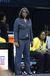 17 November 2015: Florida A&M head coach LeDawn Gibson. The University of North Carolina Tar Heels hosted the Florida A&M University Rattlers at Carmichael Arena in Chapel Hill, North Carolina in a 2015-16 NCAA Division I Women's Basketball game. UNC won the game 94-58.