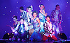 The Ladyboys of Bangkok <br /> Forever Yours&hellip;.X<br /> part of the Brighton Fringe Festival <br /> at the Sabai Pavillion, Victoria Gardens, Brighton, Great Britain <br /> Creative Director Phillip Gander <br /> <br /> live performance <br /> 11th May 2016  <br /> <br /> Photograph by Elliott Franks <br /> Image licensed to Elliott Franks Photography Services