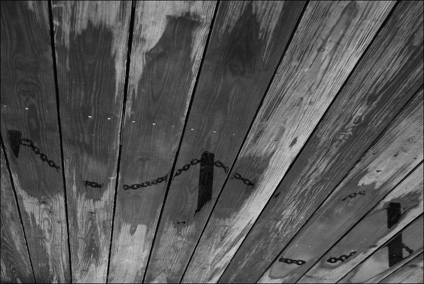 Wooden Sky<br /> From &quot;Miami in Black and White&quot; series.<br /> Bayfront Park, Downtown Miami, FL