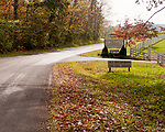 Barboursville Vineyards is approached via a neatly landscaped driveway on the right.