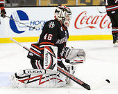 Bryan Mountain (Northeastern - 46) - The Boston College Eagles defeated the Northeastern University Huskies 5-4 in their Hockey East Semi-Final on Friday, March 18, 2011, at TD Garden in Boston, Massachusetts.