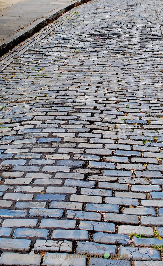 follow the blue brick road - san juan, puerto rico