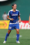 22 June 2008: Washington's Sarah Huffman. The Washington Freedom defeated the Richmond Kickers Destiny 5-0 at RFK Stadium in Washington, DC in a United Soccer Leagues W-League friendly.