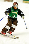 15 January 2005 - Lake Placid, New York, USA - Miyuki Hatanaka representing Japan, competes in the FIS World Cup Ladies' Moguls Freestyle ski competition, ranking 5th for the day, at Whiteface Mountain, Lake Placid, NY. ..Mandatory Credit: Ed Wolfstein Photo.