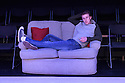 """London, UK. 06.07.2016. Damsel Productions presents, Soho Young Writer Award Winner, Phoebe Eclair-Powell's play """"Fury"""" at Soho Theatre. Directed by Hannah Bauer-King, with set design by Anna Reid, and lighting design by Natasha Chivers. Picture shows: Alex Austin (Tom). Photograph © Jane Hobson."""
