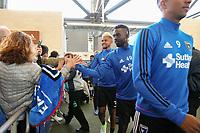 San Jose, CA - Wednesday May 17, 2017: Simon Dawkins prior to a Major League Soccer (MLS) match between the San Jose Earthquakes and Orlando City SC at Avaya Stadium.