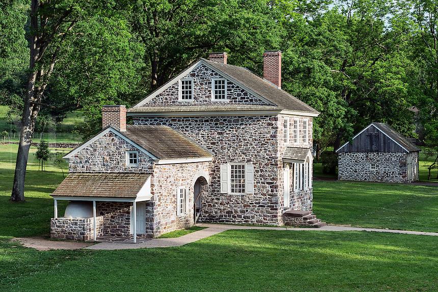 Washington's Headquarters at Valley Forge, Pennsylvania, USA
