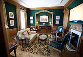 Interior of a sitting room at the Albemarle Estate at the Trump Winery in Charlottesville, Virginia on Tuesday, July 14, 2015.  Its owner, Donald Trump, a candidate for the 2016 Republican nomination for President of the United States, was appearing in Charlottesville for the ribbon cutting opening the property to guests.<br /> Credit: Ron Sachs / CNP<br /> <br /> (RESTRICTION: NO New York or New Jersey Newspapers or newspapers within a 75 mile radius of New York City)