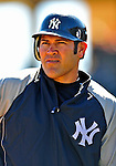 2 March 2009: New York Yankees' left fielder Johnny Damon warms up prior to a Spring Training game against the Houston Astros at Osceola County Stadium in Kissimmee, Florida. The teams played to a 5-5, 9-inning tie. Mandatory Photo Credit: Ed Wolfstein Photo
