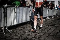 Pictures by Russell Ellis/SWpix.com - 10/04/2016 - Cycling - Paris-Roubaix - France - Paris-Roubaix 2016 - André Greipel in Compiègne before the race