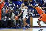10 February 2017: Duke's Lexie Brown. The Duke University Blue Devils hosted the Syracuse University Orange at Cameron Indoor Stadium in Durham, North Carolina in a 2016-17 Division I Women's Basketball game. Duke won the game 72-55.