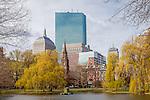 April in the Boston Public Garden, Boston, Massachusetts, USA