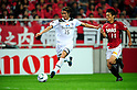 Shinji Tsujio (S-Pulse), Tatsuya Tanaka (Reds), JUNE 18th, 2011 - Football : 2011 J.League Division 1 match between Urawa Red Diamonds 1-3 Shimizu S-Pulse at Saitama Stadium 2002 in Saitama, Japan. (Photo by AFLO).