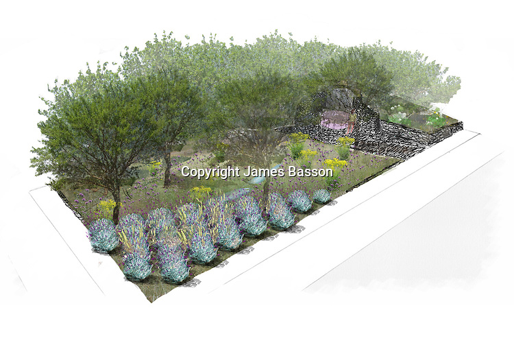 The L'Occitane Garden by designer James Basson