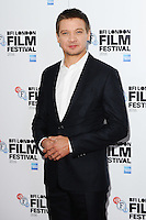 LONDON, UK. October 11, 2016: Jeremy Renner at the London Film Festival 2016 photocall for &quot;Arrival&quot; at the Corinthia Hotel, London.<br /> Picture: Steve Vas/Featureflash/SilverHub 0208 004 5359/ 07711 972644 Editors@silverhubmedia.com