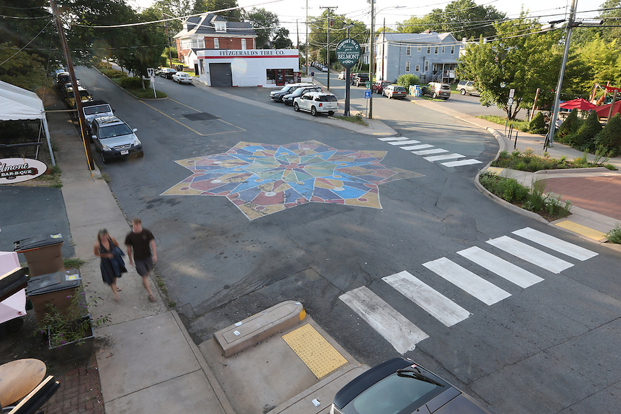 Downtown Belmont neighborhood in Charlottesville, Va. Photo/Andrew Shurtleff