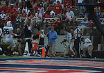 Ole Miss' Korvic Neat (28) runs out of bounds at Vaught-Hemingway Stadium in Oxford, Miss. on Saturday, September 10, 2011. Ole Miss won 42-24.