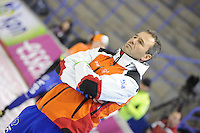 SCHAATSEN: CALGARY: Olympic Oval, 09-11-2013, Essent ISU World Cup, Jan van Veen (trainer/coach Team Corendon), ©foto Martin de Jong
