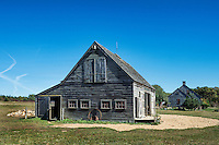Rustic barn, West Tisbury, Martha's Vineyard, Massachusetts, USA