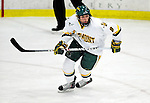 30 November 2009: University of Vermont Catamount forward Sebastian Stalberg, a Freshman from Gothenburg, Sweden, in action against the Yale University Bulldogs at Gutterson Fieldhouse in Burlington, Vermont. The Catamounts shut out the Bulldogs 1-0 in a rematch of last season's first round of the NCAA post-season playoff Tournament. Mandatory Credit: Ed Wolfstein Photo