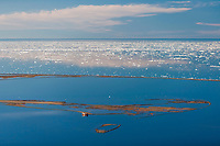 Barter Island in the Beaufort Sea, Arctic Alaska
