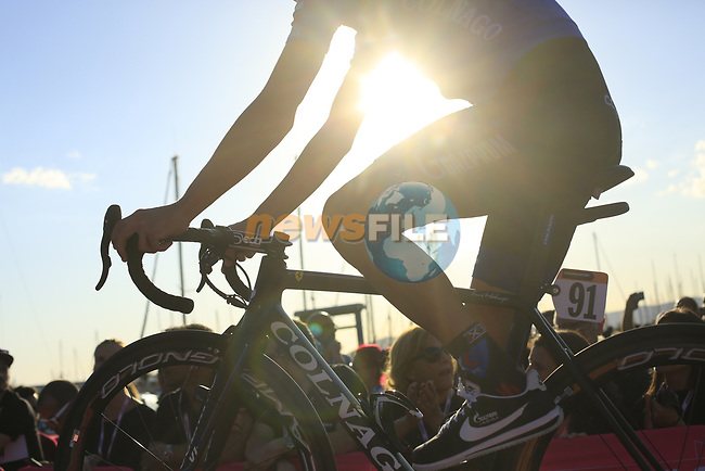 Team Presentation in Alghero, Sardinia for the 100th edition of the Giro d'Italia 2017, Sardinia, Italy. 4th May 2017.<br /> Picture: Eoin Clarke | Cyclefile<br /> <br /> <br /> All photos usage must carry mandatory copyright credit (&copy; Cyclefile | Eoin Clarke)