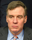 United States Senator Mark Warner (Democrat of Virginia) prior to the US Senate Select Committee on Intelligence confirmation hearing on the nomination of US Representative Mike Pompeo  (Republican of Kansas) to be Director of the Central Intelligence Agency (CIA) on Capitol Hill in Washington, DC on Thursday, January 12, 2017.<br /> Credit: Ron Sachs / CNP