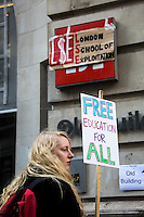 "25.03.2015 - ""March to Stop the Cuts at UAL: Free Education For All"""