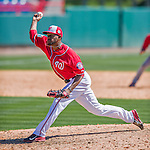 28 February 2016: Washington Nationals pitcher Wander Suero on the mound during an inter-squad pre-season Spring Training game at Space Coast Stadium in Viera, Florida. Mandatory Credit: Ed Wolfstein Photo *** RAW (NEF) Image File Available ***