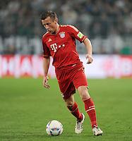 FUSSBALL   DFB POKAL   SAISON 2011/2012   HALBFINALE   21.03.2012 Borussia Moenchengladbach - FC Bayern Muenchen  Ivica Olic (FC Bayern Muenchen) am Ball