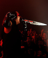 Marilyn Manson performing at Festival Hall, Melbourne, 5 October 2007